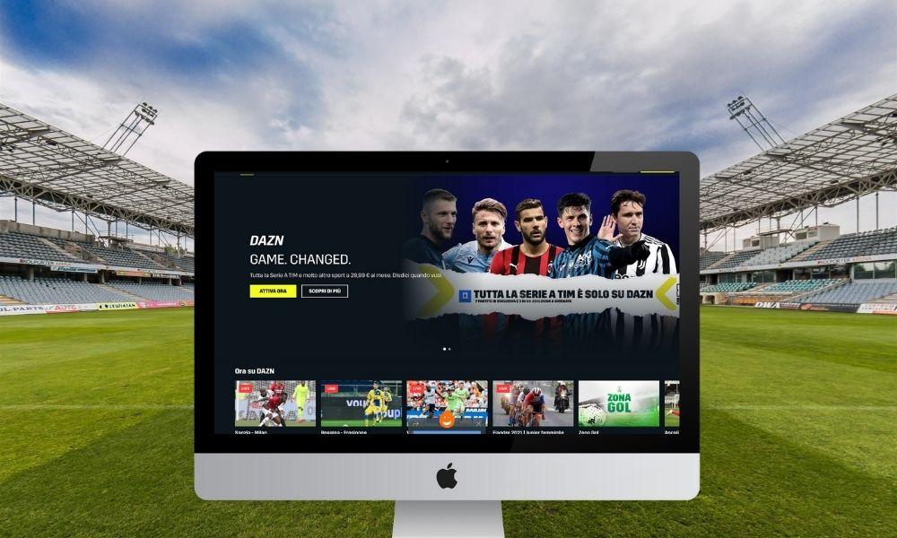 Sport in streaming su DAZN
